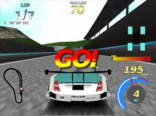 RAISING SPEED GT Game Screen Shots