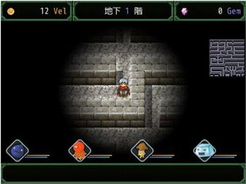 弱き魔物と地下を制す Game Screen Shots
