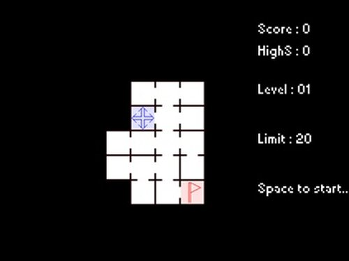 迷走記憶迷路 Game Screen Shot3