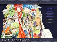 LostTechnologyβのゲーム画面
