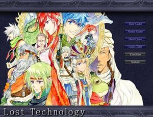 LostTechnology Game Screen Shot