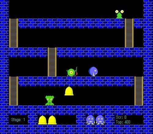 あっぷだうん1983 Game Screen Shot1