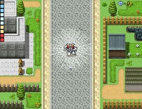宇宙ロボVX 第1話「流れ星のロボット」 Game Screen Shot4
