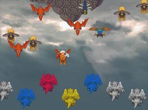 『奈落への挑戦状』(アビスへのちょうせんじょう) Game Screen Shot4