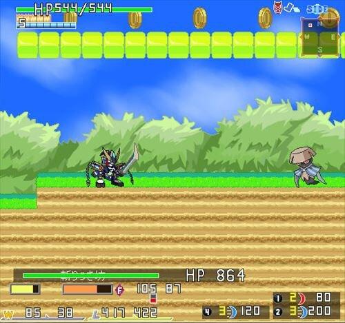 侍兵器 アドマイザー× -バツ- Game Screen Shot1