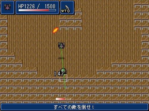 戦闘凶機ハジケイレイサー Game Screen Shot1