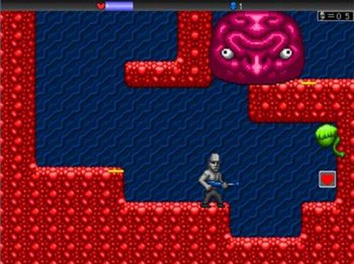 Alien vs Moai Game Screen Shot3