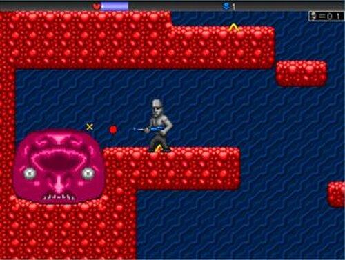 Alien vs Moai Game Screen Shots