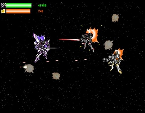 EARTH SAVIOUR FORCE Game Screen Shots