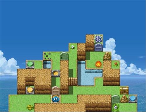 スラリンのパズルで冒険VX Game Screen Shot1