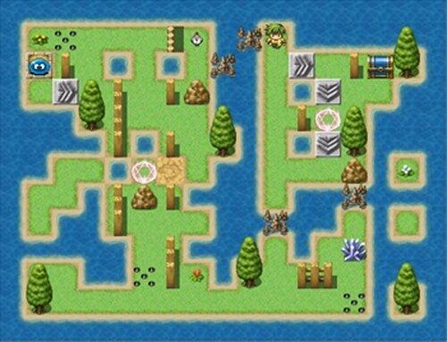スラリンのパズルで冒険VX Game Screen Shot5