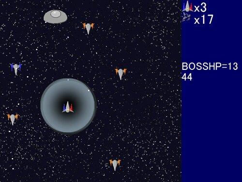 超電磁戦闘機ヴォルテニア Game Screen Shot1