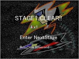 超電磁戦闘機ヴォルテニア Game Screen Shot4