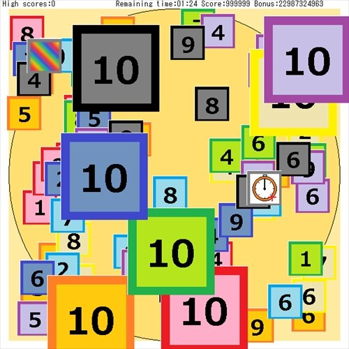 Number Palette3 Game Screen Shot1