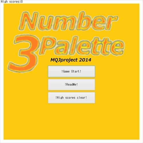 Number Palette3 Game Screen Shot2