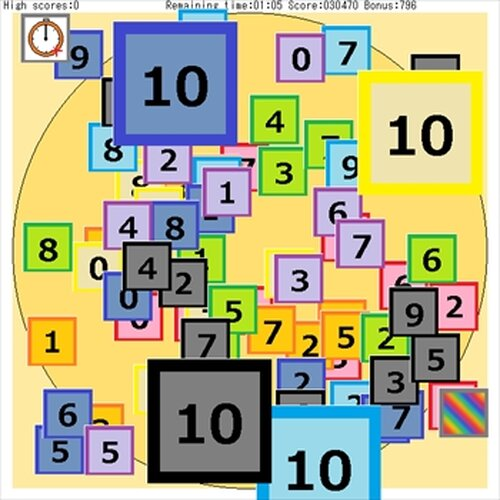 Number Palette3 Game Screen Shot3