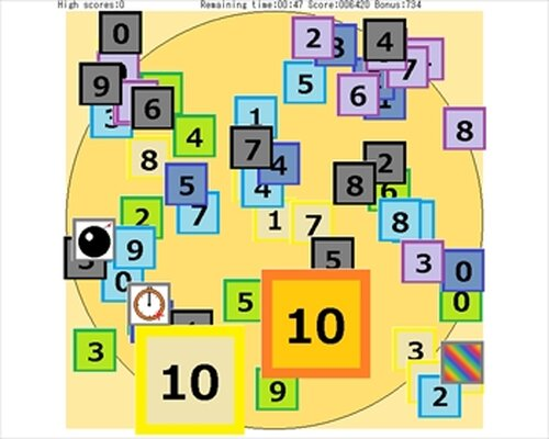 Number Palette3 Game Screen Shots