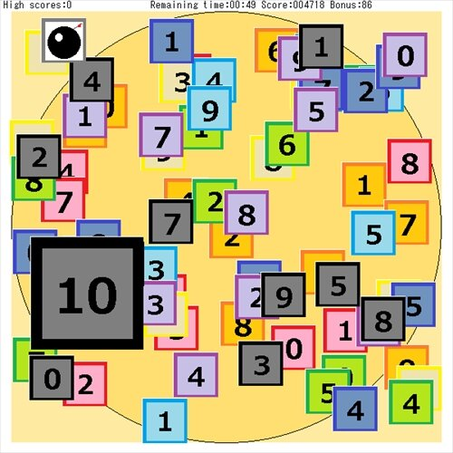 Number Palette123 Game Screen Shot