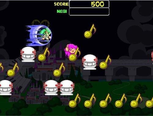 初音ランニング Game Screen Shot1