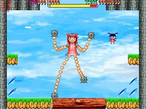 つままないちゃん Game Screen Shot
