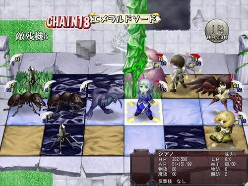 精霊指定都市ザ・ダンジョン Game Screen Shot1