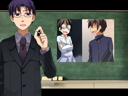 第三中学シリーズ第一話 「部長、立候補する」 Game Screen Shot1