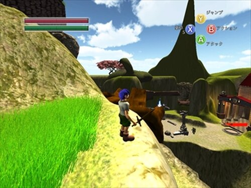 LOST NOSE Game Screen Shots