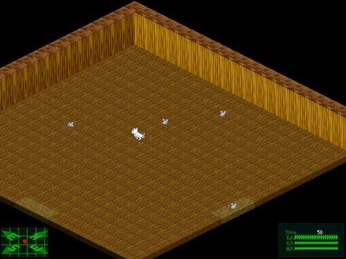 キャッツ・ウォ~R Game Screen Shot