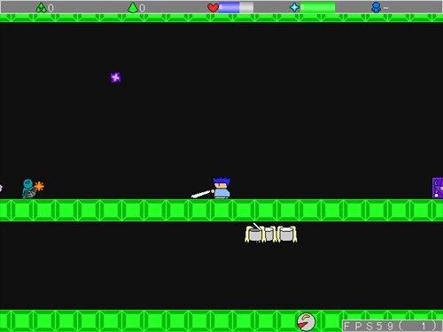 勇者ヤシーユの冒険 Game Screen Shot1
