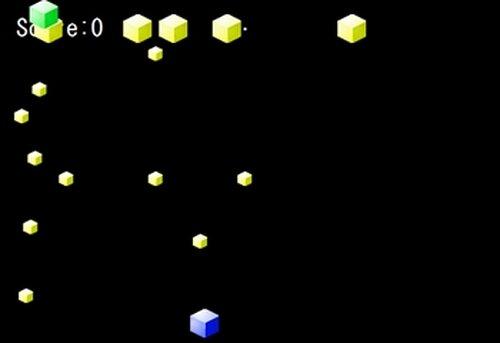 蒼いシューティング Game Screen Shot3