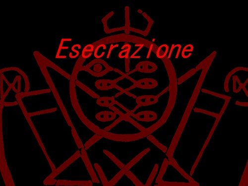 Esecrazione Game Screen Shot1