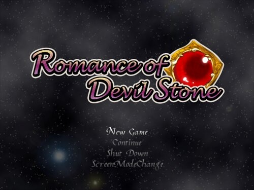 Romance of Devil Stone Game Screen Shot