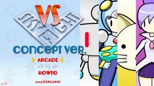 VS SKY FIGHT -concept ver.- 1.02 Game Screen Shot2