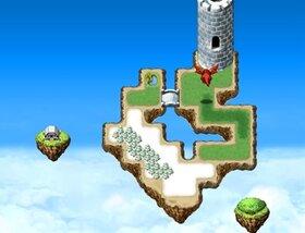 空飛ぶ少女と石の竜 Game Screen Shot3