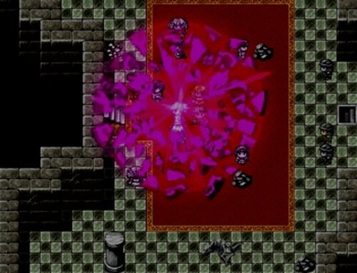 空飛ぶ少女と石の竜 Game Screen Shot5