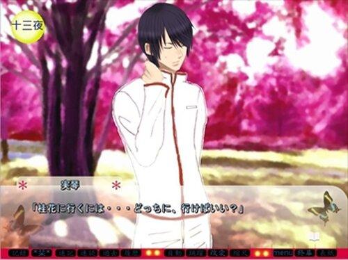 桜雪月蛍 ~かくも儚きものなれど~ 草書版 Game Screen Shot2