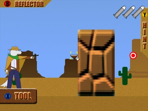 Reflect Bullet Game Screen Shot1
