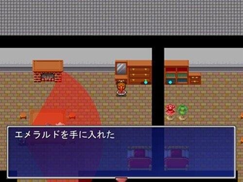 怪盗くぅ Game Screen Shot2