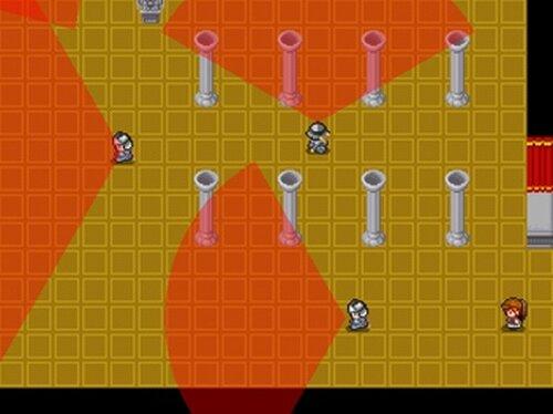 怪盗くぅ Game Screen Shots