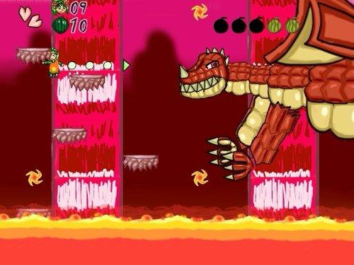 シアのしゅうかくアクション Game Screen Shot1