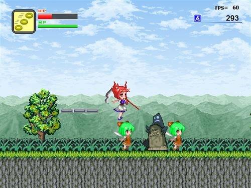小町でアクション Game Screen Shot1