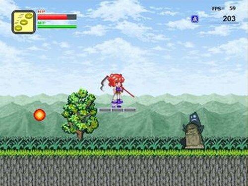 小町でアクション Game Screen Shots