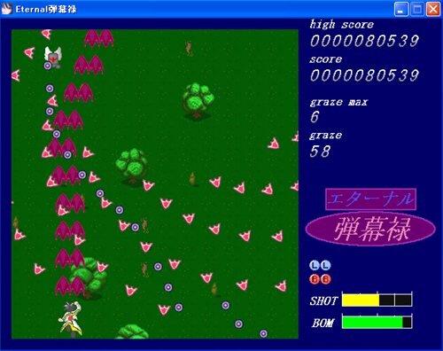 エターナル弾幕録 Game Screen Shot1