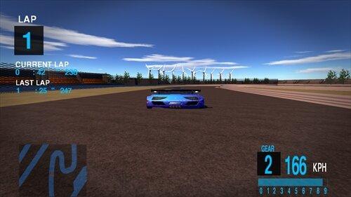 Beyond the racing Game Screen Shot