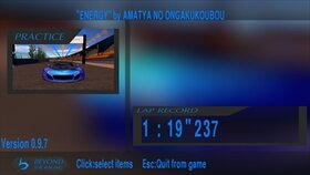 Beyond the racing Game Screen Shot3