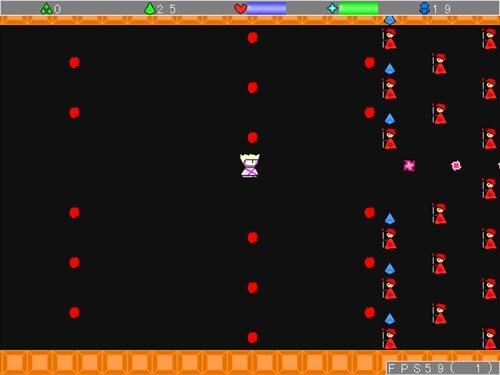 ミクトルのシューティングゲーム Game Screen Shot1