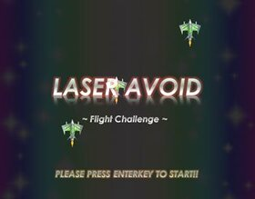 LASER AVOID ~ Flight Challenge ~ Game Screen Shot2