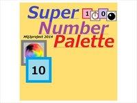Super Number Palette