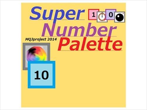 Super Number Palette Game Screen Shots