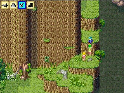 落葉の大地を走れ Game Screen Shot